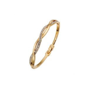 bangle-weave-gold-crystal 32044G